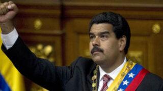 Venezuela: presidente Nicolás Maduro arremete contra cadenas internacionales