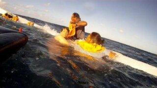 VIDEO: sobreviviente grabó trágico accidente aéreo desde el interior de la avioneta