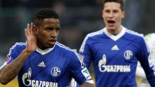 VIDEO: Jefferson Farfán anotó dos goles en la victoria del Schalke sobre Frankfurt