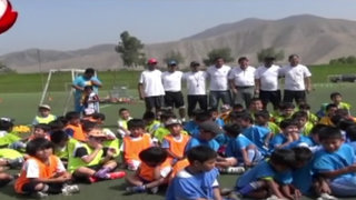La Molina: el 'Puma' Carranza en busca de las futuras estrellas de fútbol peruano