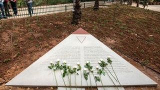 Israel inauguró monumento a gays víctimas del nazismo en Tel Aviv