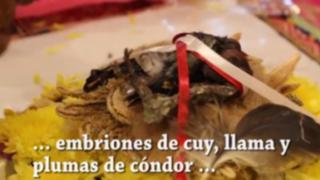 Ofrenda a la Pachamama: conozca este mítico ritual andino en el Cusco