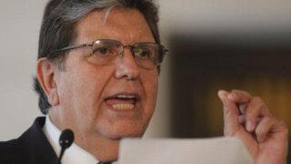 Alan García sostuvo que el fallo de La Haya debe cumplirse sin condiciones