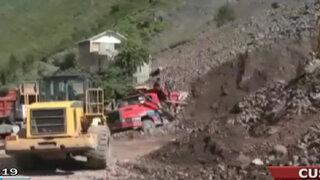 Acusan a minera de ocasionar huayco que sepultó a una familia en Cusco