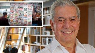 """Mario Vargas Llosa reafirmó críticas contra la """"concentración de medios"""""""
