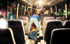Delincuentes matan a pasajero de bus que se resistió a asalto en Abancay