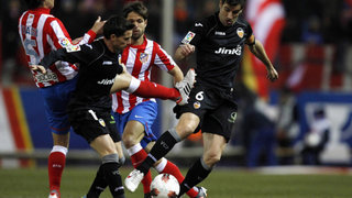 Atlético de Madrid venció 2-0 al Valencia y pasó a cuartos de la Copa del Rey