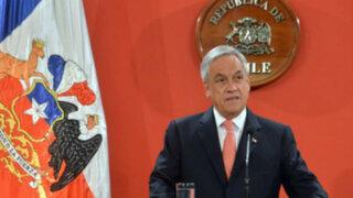 Presidente Sebastián Piñera insiste en que triángulo terrestre pertenece a Chile