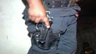 Congreso: apoyan despenalización del uso de armas de Policía y FFAA