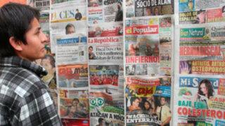 Concentración de medios: congresistas en contra de intervención política