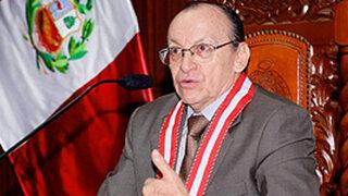 Afirman que crisis en el Ministerio Público sería aprovechada por Fiscal de la Nación