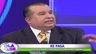 Especialistas en educación explican detalles de la nueva Ley Universitaria