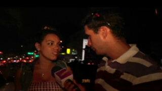 Aída Martínez pasó un fin de semana con Manco en Lunahuaná
