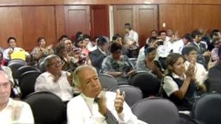 Trabajadores del Poder Judicial y el Ministerio Público anuncian paro nacional