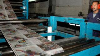 Periódicos de Venezuela corren riesgo de quedarse sin papel