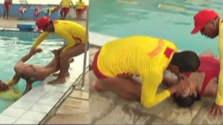 Conozca las técnicas de rescate utilizadas durante accidentes en piscinas