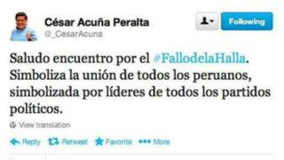 César Acuña y el 'horror' ortográfico que corrió en las redes sociales
