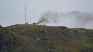 Cajamarca: manifestantes causan destrozos en proyecto minero Conga