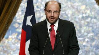 """Canciller chileno dice que sentencia de La Haya """"tiene validez inmediata"""""""