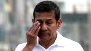 Ipsos Perú: desaprobación a Ollanta Humala alcanza el 66%