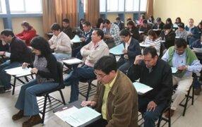 Viceministro Martín Vegas exige sanción a universidad por examen a profesores