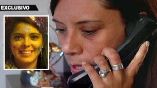La respuesta de Fernanda Lora: implicada en crimen de Rosa Castillo en exclusiva
