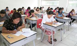 Evaluación de profesores: 97% de docentes inscritos dieron examen de contrato