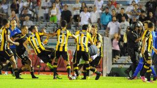 VIDEO: clásico uruguayo entre Peñarol y Nacional terminó en batalla campal