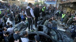 Atentado suicida con coche bomba en Beirut dejó 4 muertos y 35 heridos