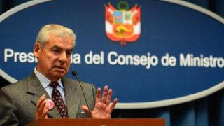 César Villanueva viajó a Foro Económico Mundial 2014 en Suiza