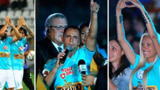 VIDEO: Julinho se robó el show en la 'Noche de la Raza Celeste'