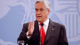 Sebastián Piñera: Chile defenderá sus legítimos intereses tras fallo de La Haya