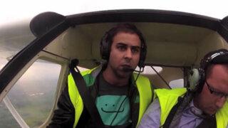 Terrible broma: piloto se desmaya en pleno vuelo