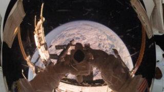 FOTOS: impresionates 'selfies' tomados por los astronautas en el espacio