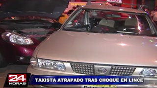 Violento accidente vehicular dejó al menos dos heridos en Lince