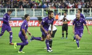 Copa Italia: Juan Vargas estuvo presente en victoria de Fiorentina sobre el Siena