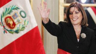 Eda Rivas y representantes peruanos ante La Haya se presentaron en la Cancillería