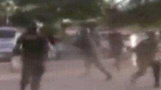 Piura: Policía tuvo que enfrentarse a turba que intentó liberar a delincuentes