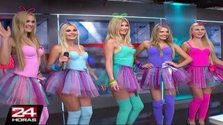Las Chicas Doradas mostraron todos sus encantos en 24 Horas Mediodía