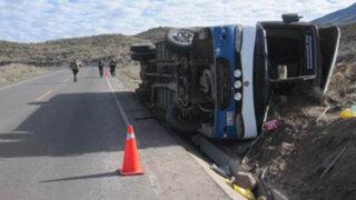 Arequipa: ocho muertos y más de 40 heridos dejó accidente de bus interprovincial