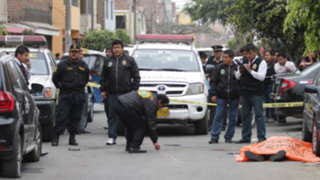 Los Olivos: balacera entre policías y  ladrones deja un muerto y un niño grave