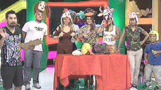 Enemigos Públicos presentó divertida radionovela zoológica