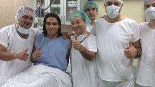 Radamel Falcao fue operado con éxito: Colombia reza para que llegue a Brasil 2014
