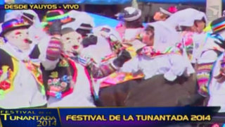 Festival de la Tunantada 2014: la alegría y color de esta fiesta por Panamericana