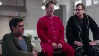 Estados Unidos: elenco de 'Tres por tres' se reunió en comercial televisivo