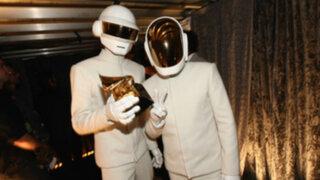 Grammy 2014: Daft Punk se impuso al ritmo de 'Get Lucky'