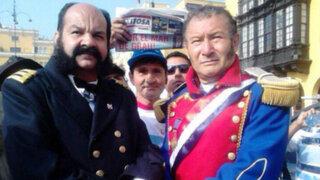 FOTOS: Miguel Grau y O'Higgins se juntaron en Lima para el fallo de La Haya