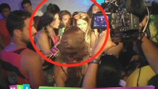 Malú Costa, Sandra Arana y Shirley Arica protagonizan escandaloso altercado