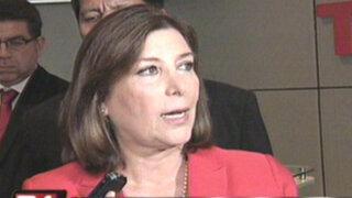 Ministra Eda Rivas negó que haya recibido nota de protesta chilena