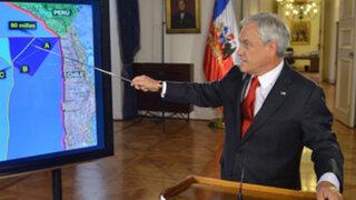 Sebastián Piñera: Chile envió nota de protesta al Perú por triángulo terrestre